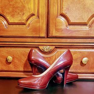 Burgundy shoe by Nine West